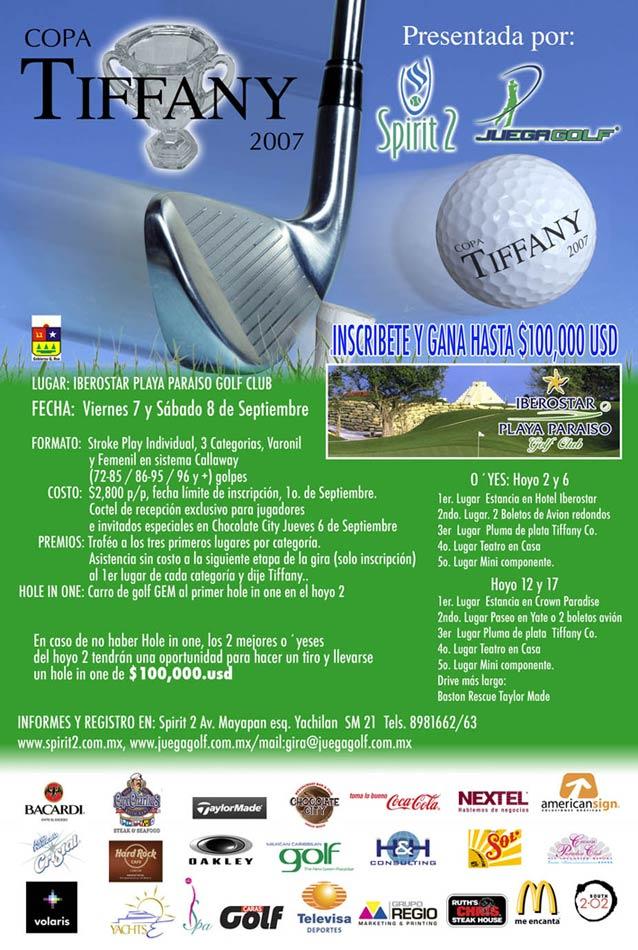 Torneo de golf cancun riviera maya playa del carmen