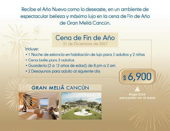 Cancun Melia Restaurants