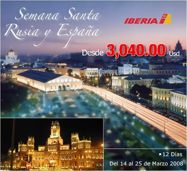 Semana Santa en Rusia y España