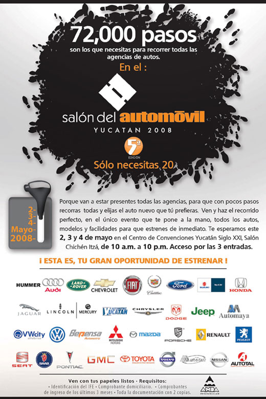 salon del automovil merida yucatan mexico