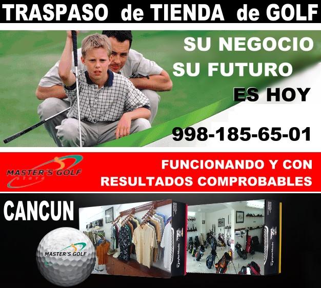 Tienda de golf cancun negocio rentable y confiable