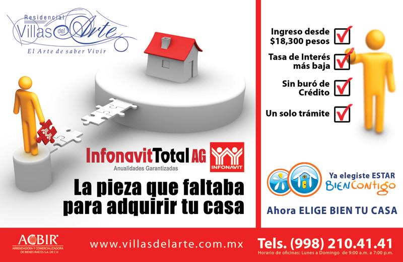 Infonavit Total credito para comprar casa nueva Cancun Infonavit Total ...